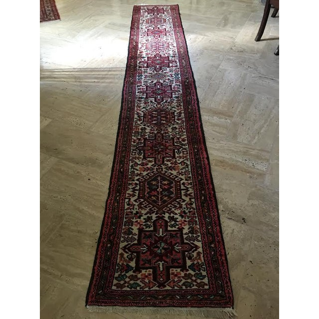 Authentic Handwoven Persian Runner Rug - Image 2 of 3