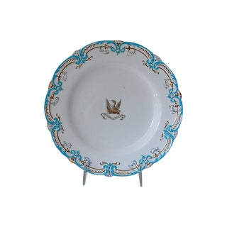 Antique English Crested Plate For Sale