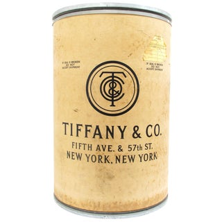 Tiffany & Company Shipping Barrel For Sale