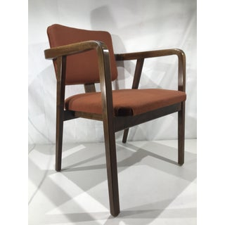 1960s Vintage George Nelson for Herman Miller Walnut Armchair Preview