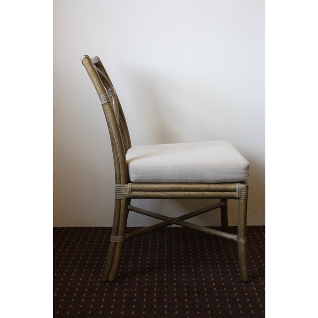 McGuire Thomas Pheasant Open Back Chair - Image 4 of 6
