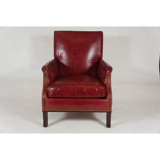 Reclining Leather Chair or Recliner by Maurice Hirsch, France, C. 1950 Preview