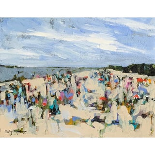 Beach Day Painting by Molly Wright For Sale