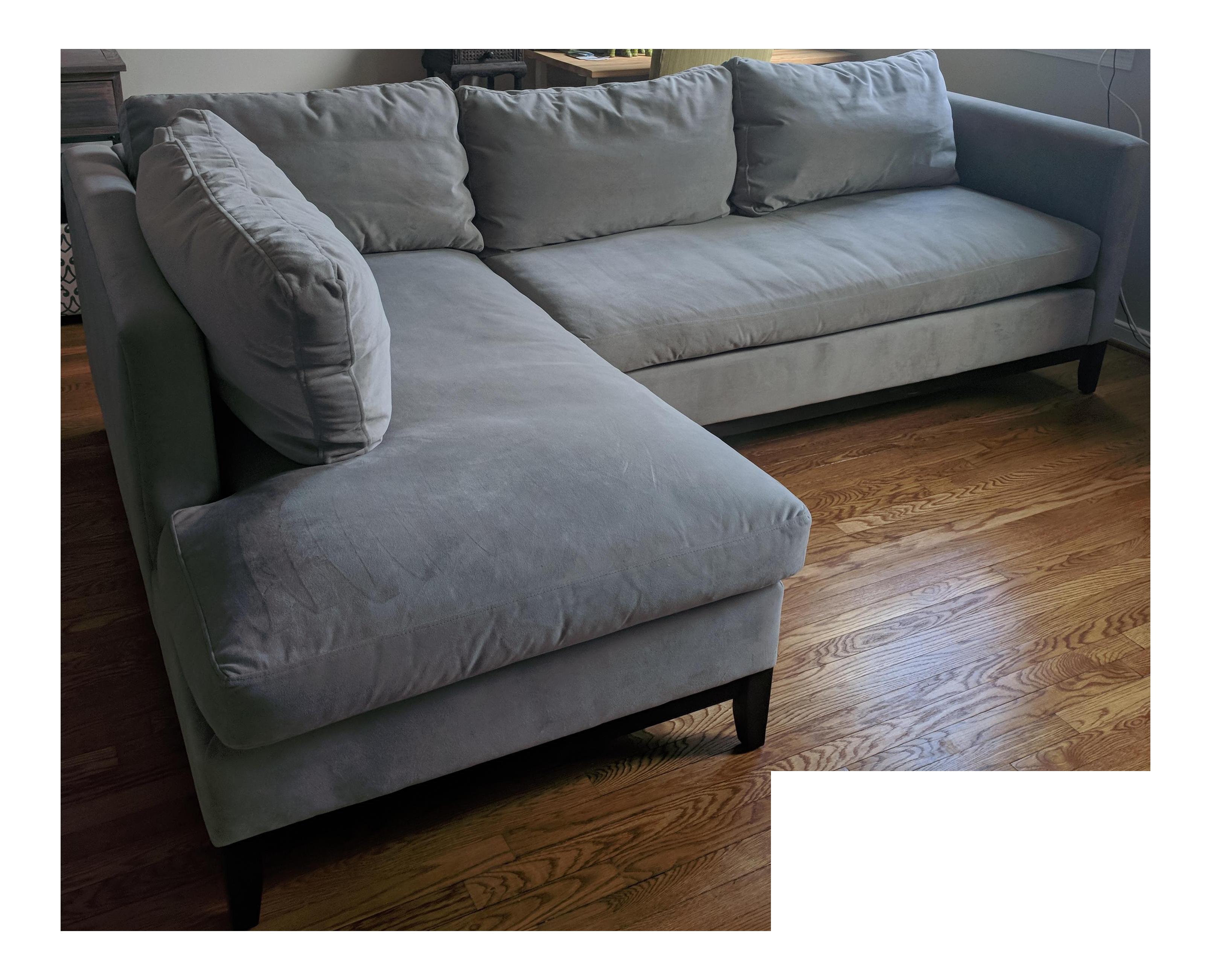 West Elm Blake Chaise Sofa