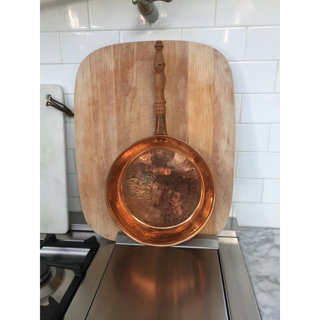 Vintage Copper Frying Pans - Set of 3 - Image 5 of 7