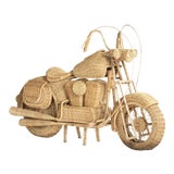 Image of Tom Dixon Rattan Motorcycle Sculpture For Sale