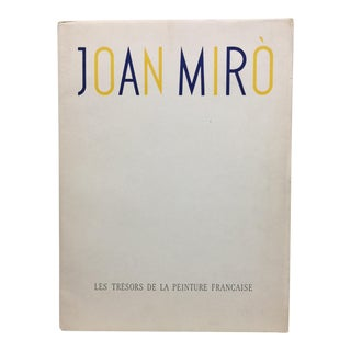 Joan Miro Portfolio of Fine Lithographic Prints, 1964 For Sale