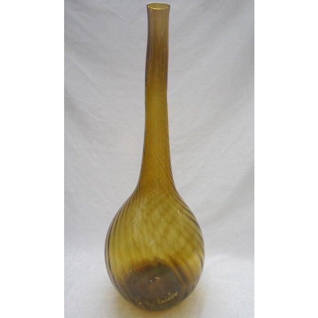 Mid Century Blown Glass Vase - Image 2 of 5