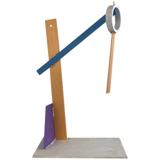 1980s Modern Geometric Sculpture For Sale
