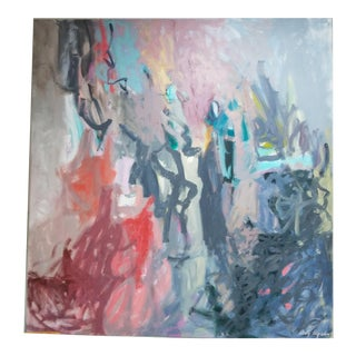 1988 Judy Lipids Modern Painting For Sale