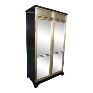 Hickory Chair Co. Mirrored Armoire