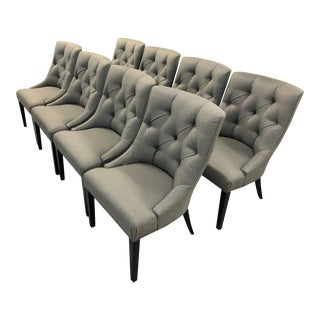 Swaim Dining Chairs - Set of 8 For Sale