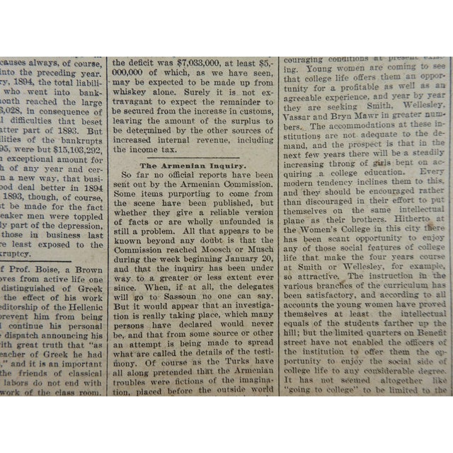 1895 Providence R.I. Bound Newspapers For Sale - Image 11 of 11