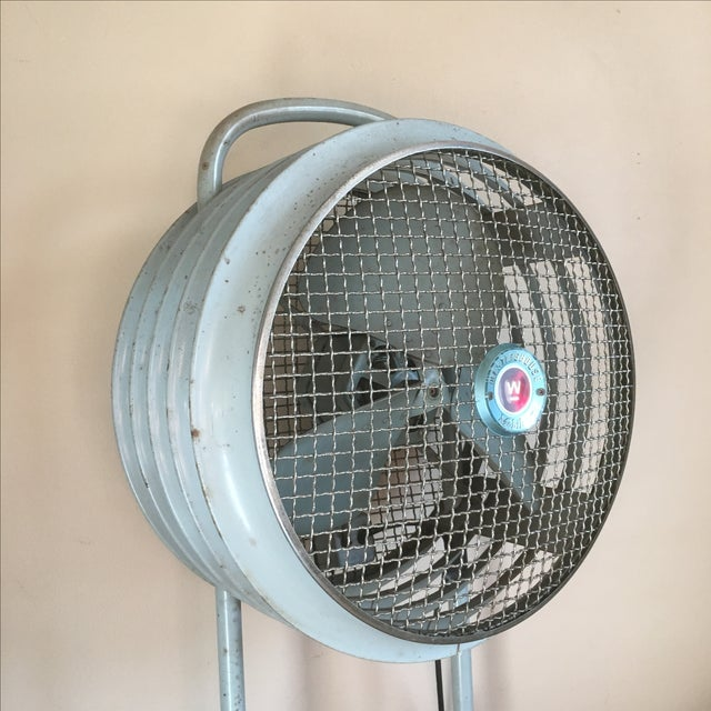 Industrial Westinghouse Mobilaire Industrial Fan For Sale - Image 3 of 11