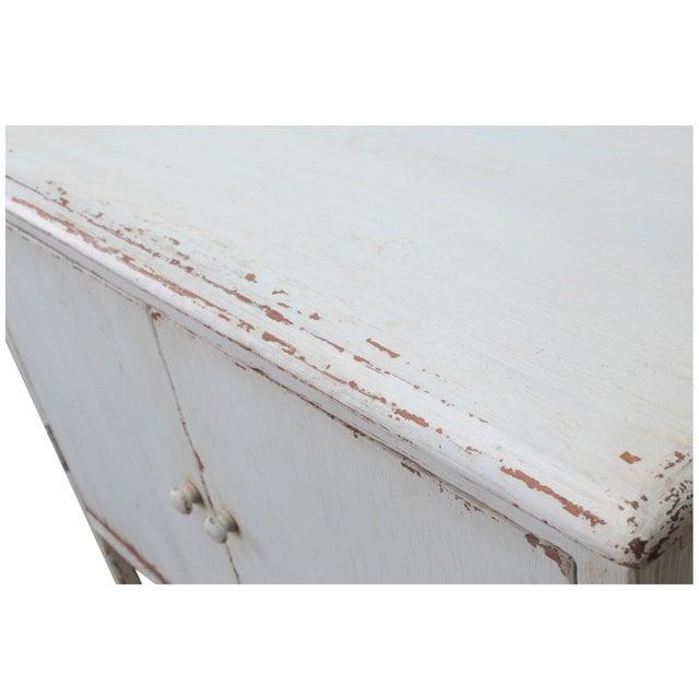 Sarreid LTD Pine Zack Cabinet - Image 5 of 5