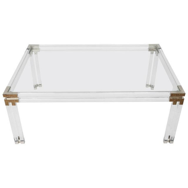 Charles Hollis Jones Style Coffee Table For Sale