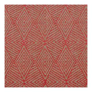 Triad Cinnabar Red Fabric - 1 Yard For Sale