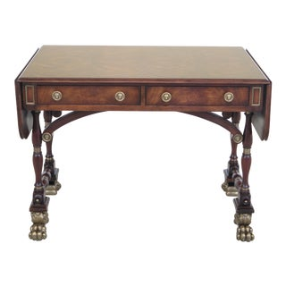 Theodore Alexander Althorp Collection Regency Mahogany Writing Desk