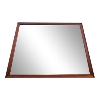 Kipp Stewart Drexel Declaration Walnut Wall Mirror For Sale