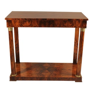 France 1810 Empire Console Table