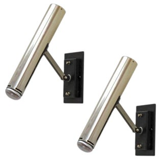 Pair of Lita 2300 CF Wall Lights For Sale