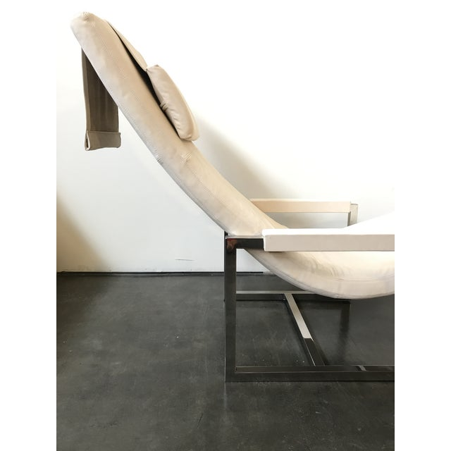 Ralph Lauren Home Loft Leather Chaise - Image 8 of 8