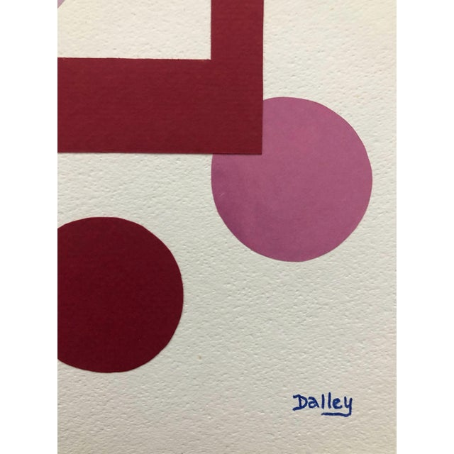 Abstract In and Out the Window Modern Collage by Dalley For Sale - Image 3 of 6
