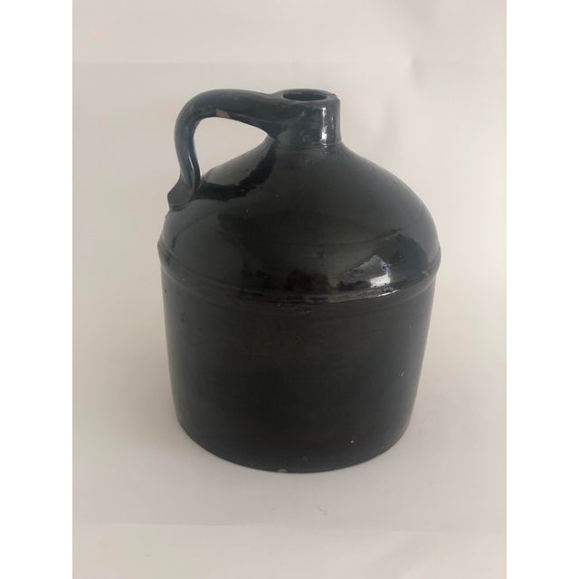 Antique Farmhouse Stoneware Jug For Sale - Image 9 of 9