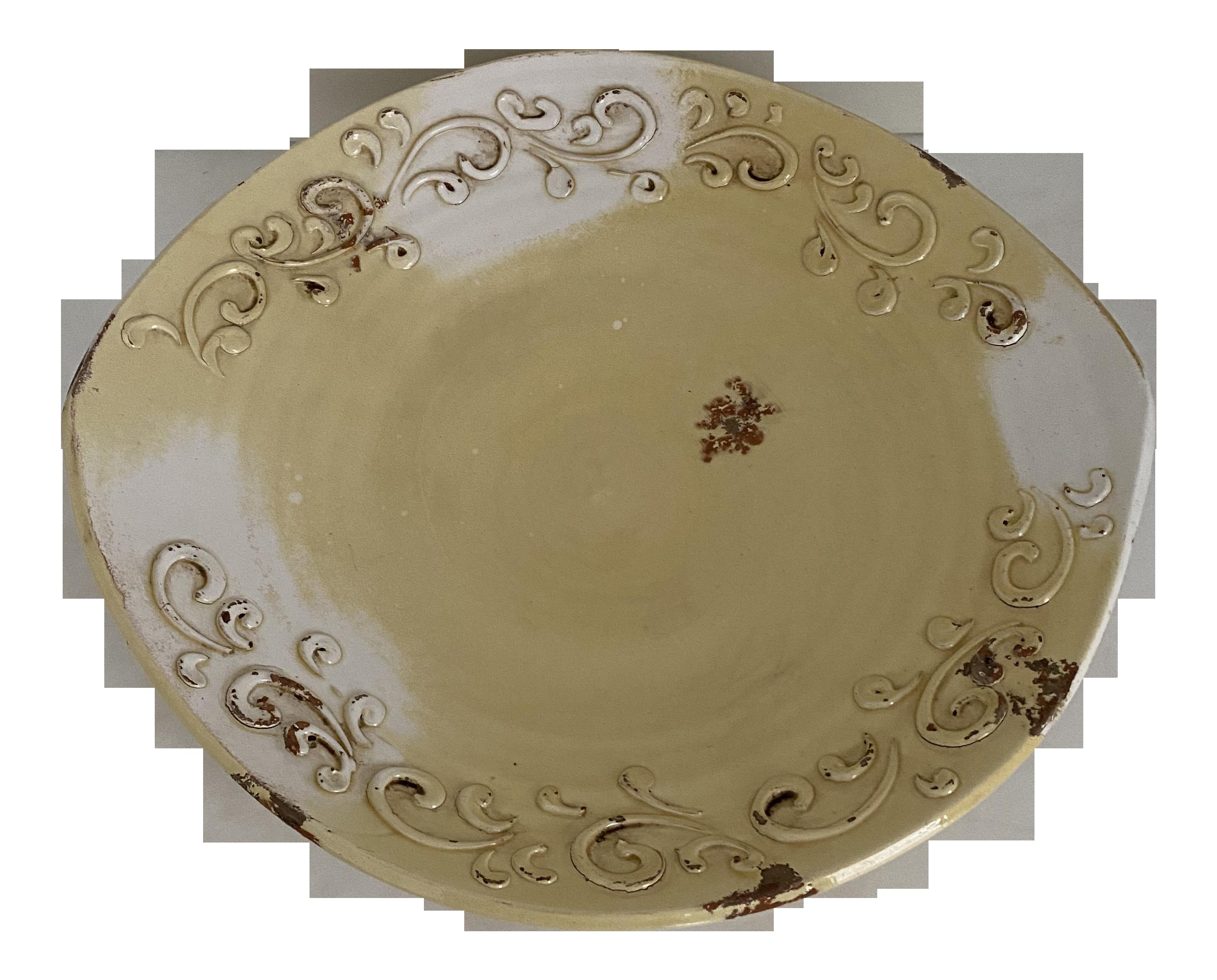 Handmade Large Decorative Ceramic Bowl From Italy Chairish