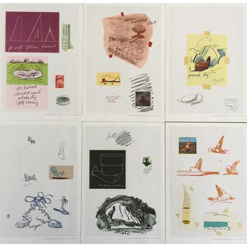 """Claes Oldenburg """"Notes"""" Complete Collection - Set of 12 - Image 1 of 10"""