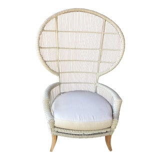 Made Goods White Aurora Outdoor Chair