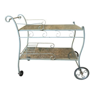Mid-Century Salterini Bar Cart For Sale