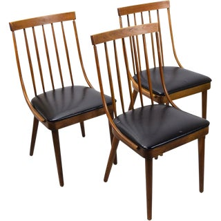 Mid-Century Bentwood Side Chairs - Set of 3