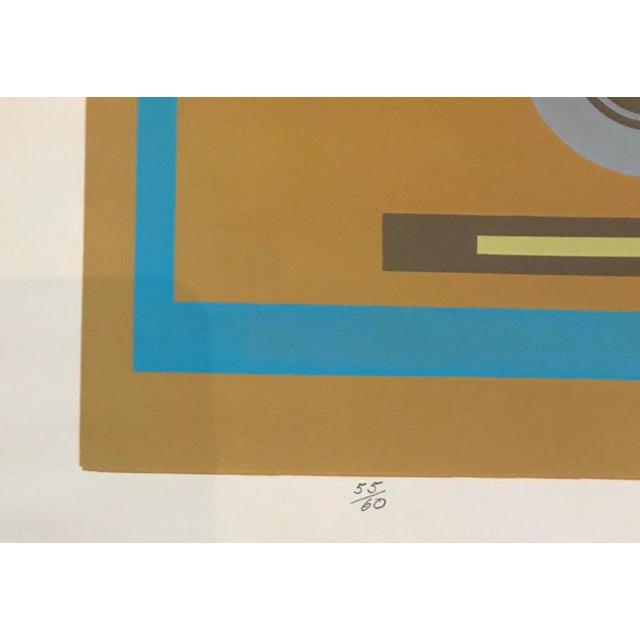 1970s Mid-Century Modern Robert Hunter Serigraph - 1973 For Sale - Image 5 of 6