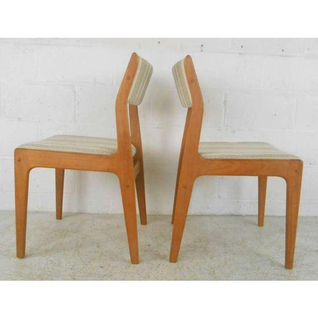 Danish Modern Dining Chairs - Set of 6 For Sale - Image 5 of 9