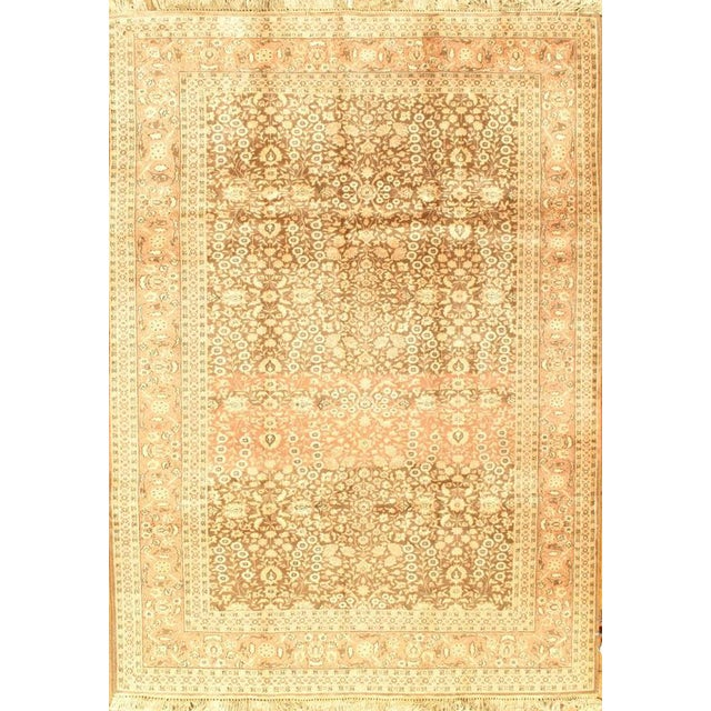 """Pasargad NY Semi-Antique Turkish Herati Design Hand-Knotted Rug - 5'10"""" x 8'2"""" For Sale"""