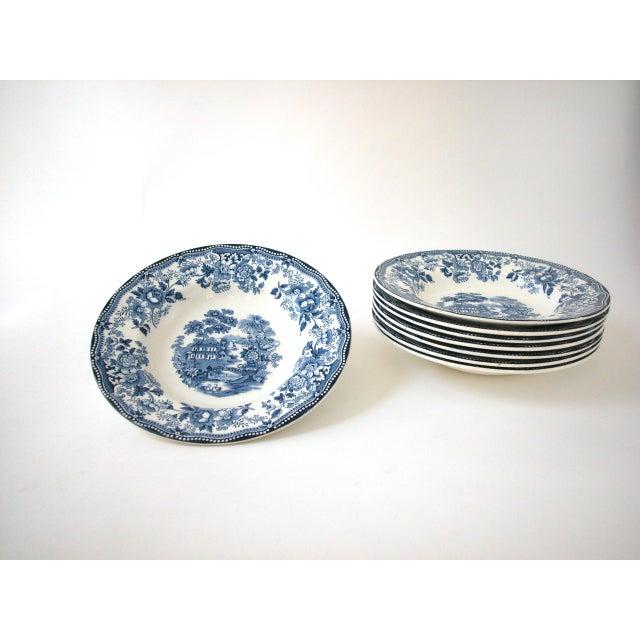 Blue & White Royal Staffordshire Bowls - Set of 8 - Image 11 of 11