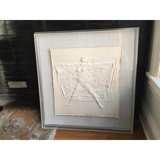 "Contemporary ""Deborah"" Framed Cast Paper Original Artwork by Art Bliefeld For Sale"