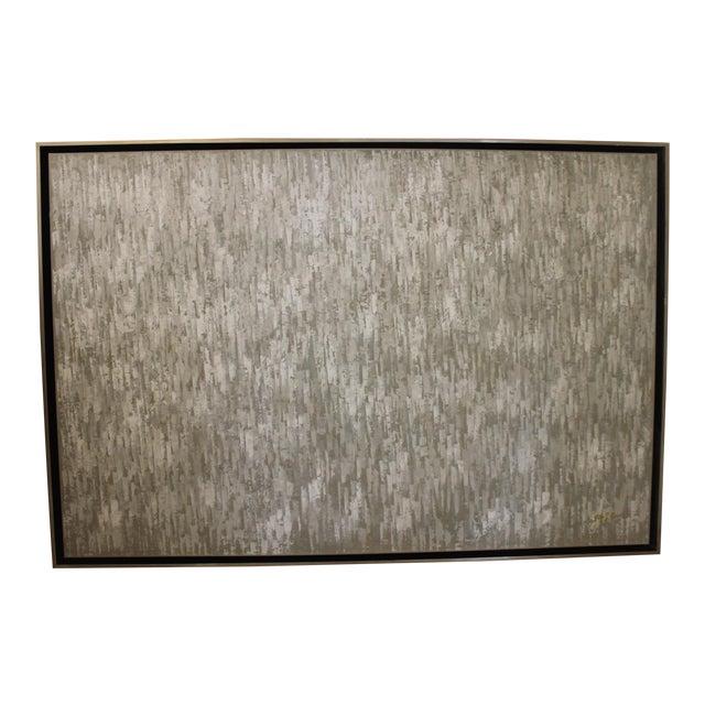John Richard Abstract Framed Oil Painting For Sale