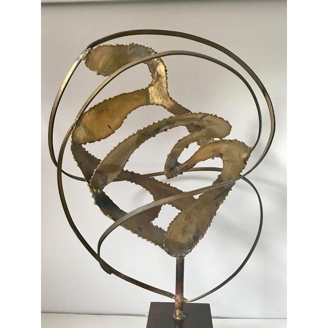 1960s Midcentury Modern Brutalist Sculpture For Sale - Image 5 of 7