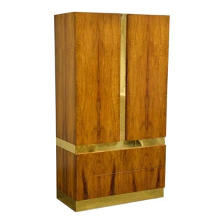 Milo Baughman for Thayer Coggin Armoire Dresser For Sale