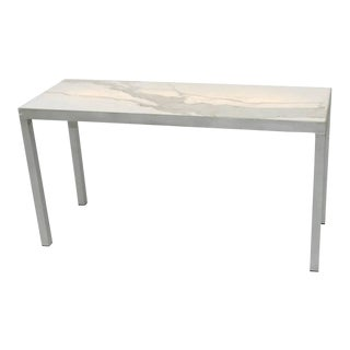 CARRARA MARBLE Console STARCK For Sale