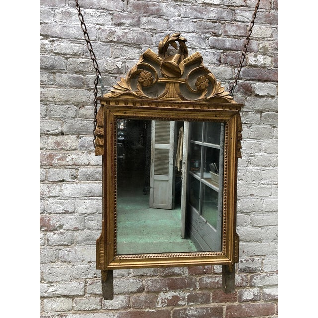 Louis XVI Mirror, 18th Century For Sale - Image 9 of 9