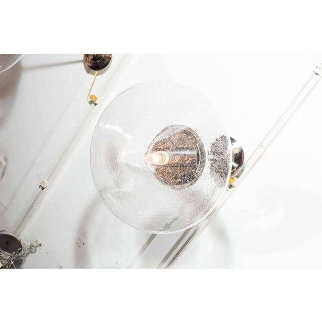 2010s Pendants with Prism Globes For Sale - Image 5 of 6