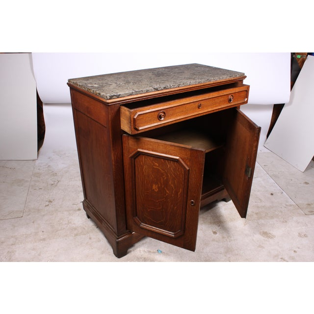 Antique Louis Philippe-Style Washstand - Image 2 of 4