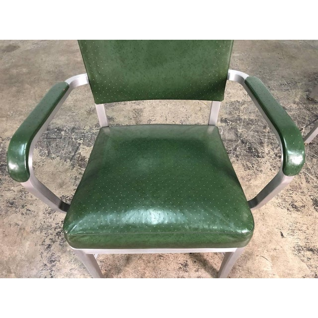 Metal Mid-Century Industrial Office Chair by Cole-Steel ~ a Pair For Sale - Image 7 of 10