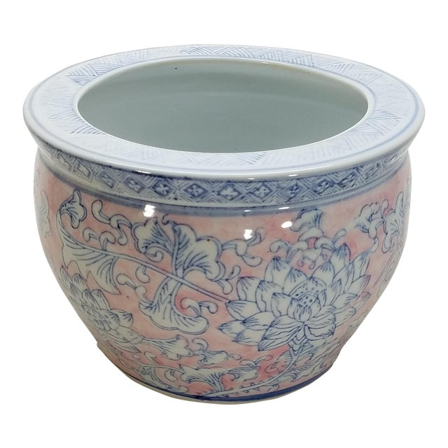 Vintage Chinoiserie Planter No. 1 - Image 1 of 5