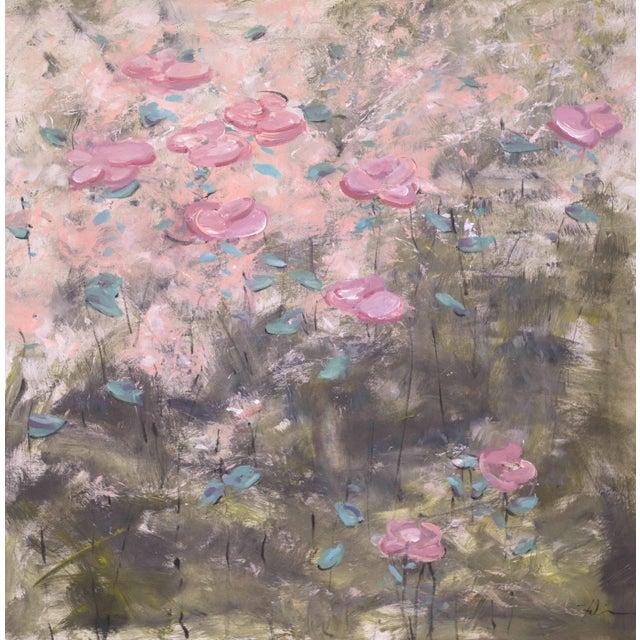 """True Colors"" Original Acrylic Flower Painting - Image 1 of 4"
