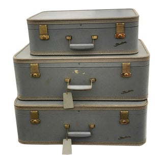 Vintage Starline Luggage Set 3pc