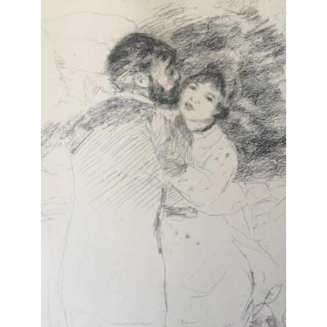 "Vintage Renoir Reprint ""Dance at Chatou"" - Image 4 of 7"